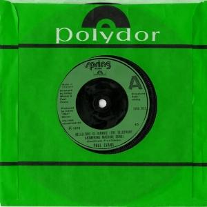 EvansPaul_1978_Single